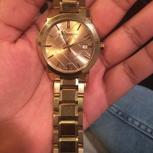 Burberry Gold Watch